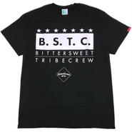 BSTC  Tee  (ブラック/ホワイト)