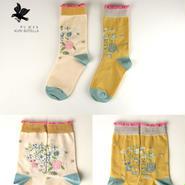 クリボテラ birdhouse socks  White