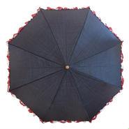 折りたたみ傘フリル (晴雨兼用)