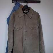 SCHOTT スエード シャツジャケット