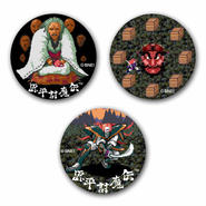 【The Genji and the Heike Clans】Button Badge  (3-piece set)