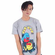 PAC-MAN Arcade Art Tee (Gray)