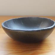 GARAGE MADE限定色 hinomigama 黒釉  丸鉢5