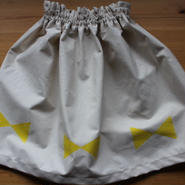 GARAGE MADE Kid's リボンスカート 120〜150位
