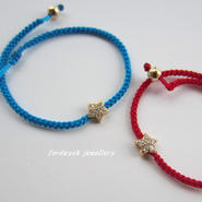 fordwych jewellery アンクレット sparkle shooting star ピーコックブルー