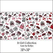 【限定OFF★6枚セット定価¥10800】It Girl Collection2色6枚セット★レッド&ピンク各3枚ずつ