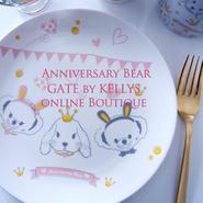 【セット割引★6枚セット】AnniversaryBear&LadyBunny2種×3枚の6枚セット