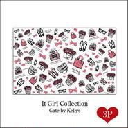 【セット割引★3枚セット】It Girl Collection転写紙/3枚セット/ピンク