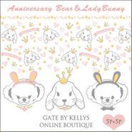 【限定OFF★10枚セット】AnniversaryBear&LadyBunny2種×5枚の10枚セット