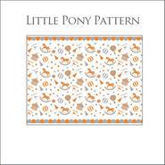【単品】LittlPonyパターン転写紙/オレンジ