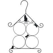 マルチハンガー・クロネコ(ストール、マフラー、チーフなどの整理に)【送料無料】【問屋直送】