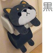 ついに出ました♪日本一の人気犬♪豆しば☆ロールペーパーホルダー【送料無料】