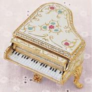 ピューターBOX☆ピアノ【送料無料】【問屋直送】