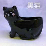猫のしゃもじスタンド(陶器製)【送料無料】【問屋直送】