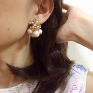 女性誌【GLITTER】掲載 2way Dolce Ⅰ × Pearl(ツーウェイ ドルチェⅠ×パール)