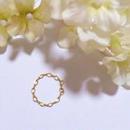 雑誌掲載アイテム✩14kgf Chain Ring