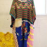BAVARD-CADEAU bavard ethnic fur dress