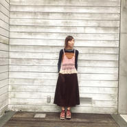 50%OFF!!!NON TOKYO super wide corduroy pants -brown-