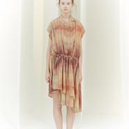 50%OFF!!!SHIROMA 16S/S chase the unknown cache-cœur dress