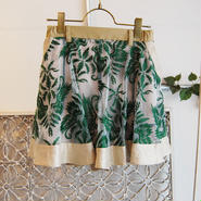 SHIROMA 17S/S BREAK embroidery short pants