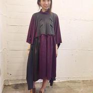 50%OFF!!! ENVOL AVEC NING 15-16A/W purple loose dress