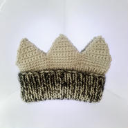 Ondev crown mohair knit cap