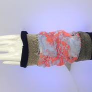 SHIROMA sleeve - blue×orange -
