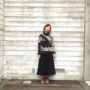 50%OFF!!!NON TOKYO super wide corduroy pants -navy-