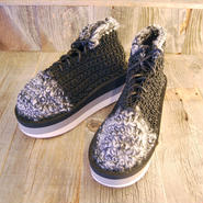 ARIELLE DE PINTO / LVMM lace up boxer -black×gray-