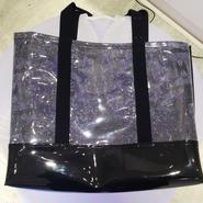 SHIROMA 14S/S vinyl bag -BLACK-