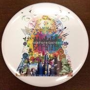 【12/14発売】箱庭のクリスマスっぽい缶バッヂ(箱庭券1枚付)