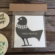TheHappystandup Sticker