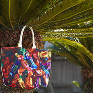"Reversible Tote Bag ""Candy"""