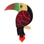 Terrence Toucan ブローチ BH5461-0170