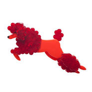 Lady the Leaping poodle ブローチ BH5279-1000