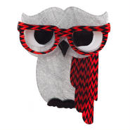 Wakldo the Wacky Wise Owl ブローチ BH4056-1071