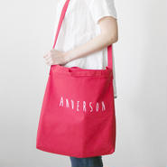 2 way tote red
