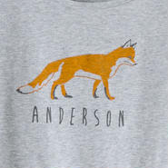 Ladies T fox grey