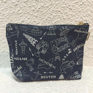 MAPTOTE / POUCH / grey