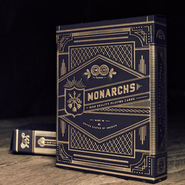 Monarch Playing Cards / Navy