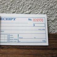 MONEY/RENT RECEIPT BOOK(2PART)