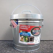 BEHRENS / 6 Gallon Locking Lid Container