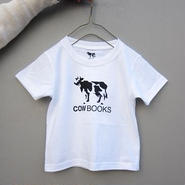 COW BOOKS / KIDS T-SHIRT / 100