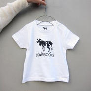 COW BOOKS / KIDS T-SHIRT / 90