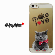 【iPhoneSE/5s/5】♥Bestseller♥Animal pop case CAT