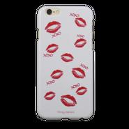 【iPhone6s/6】XOXOリップ ホワイト
