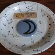 おためし メガ惑星マグネット(直径76mm) 月