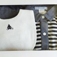 オススメ♪ショートオール&帽子&スタイセット 0-3M