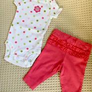 Carter's 水玉 新生児女の子 & セット