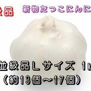 《並級品》新物たっこにんにく(熟成乾燥)Lサイズ 1kg